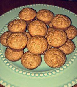Mini Peanut Butter Muffins